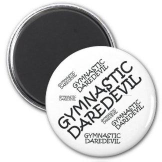 TOP Gymnastics Daredevil 2 Inch Round Magnet