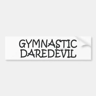 TOP Gymnastics Daredevil Bumper Sticker