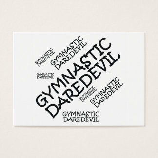 TOP Gymnastics Daredevil Business Card