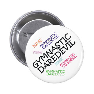 TOP Gymnastics Daredevil Button