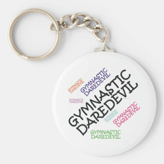 TOP Gymnastics Daredevil Keychain