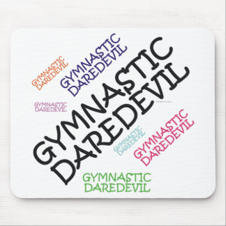 TOP Gymnastics Daredevil Mouse Pad