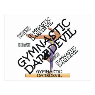 TOP Gymnastics Daredevil Post Cards