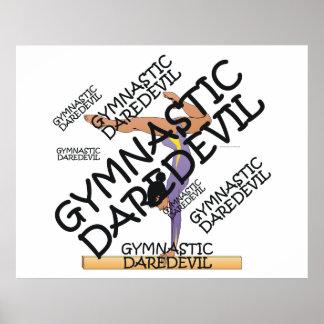 TOP Gymnastics Daredevil Posters