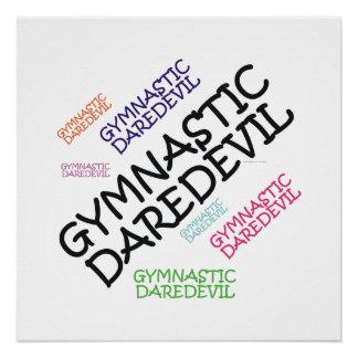 TOP Gymnastics Daredevil Poster