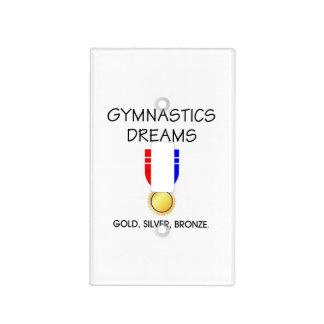 TOP Gymnastics Dreams Light Switch Cover