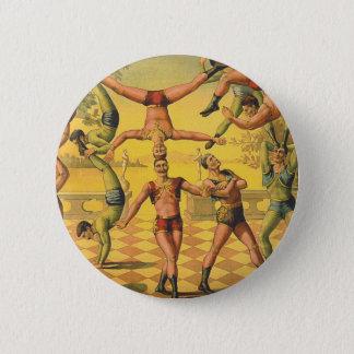 TOP Gymnastics Old School Pinback Button