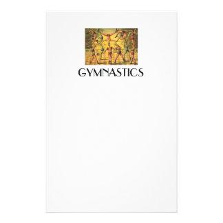 TOP Gymnastics Old School Stationery