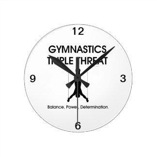 TOP Gymnastics Triple (M) Clock