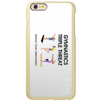 TOP Gymnastics Triple Play Incipio Feather® Shine iPhone 6 Plus Case
