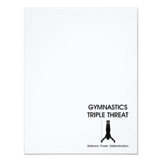 TOP Gymnastics Triple Threat Card