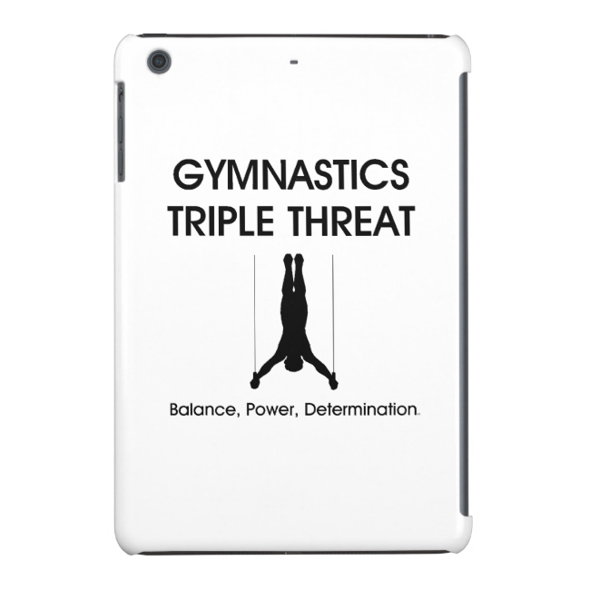 TOP Gymnastics Triple Threat iPad Mini Retina Covers