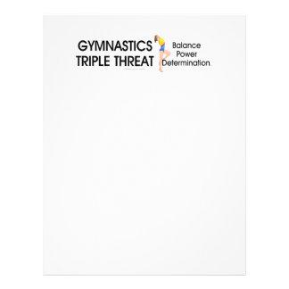 TOP Gymnastics Triple Threat Full Color Flyer