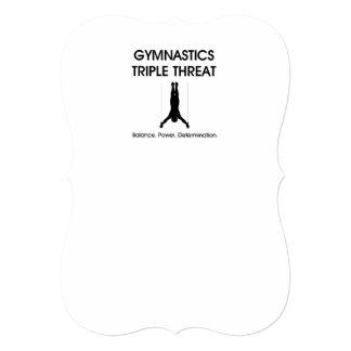 TOP Gymnastics Triple Threat Personalized Invite