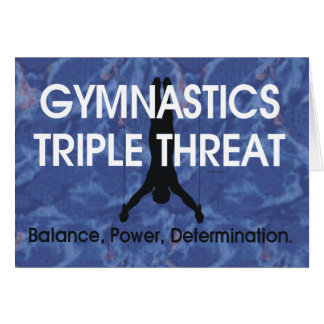 TOP Gymnastics Triple Threat (Men's) Card