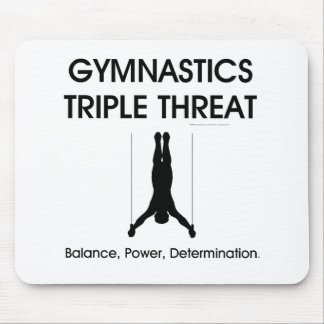 TOP Gymnastics Triple Threat (Men's) Mouse Pad