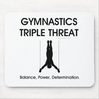 TOP Gymnastics Triple Threat (Men's) Mouse Pad