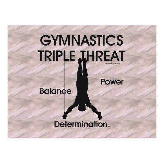 TOP Gymnastics Triple Threat (Men's) Postcard