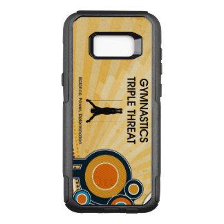 TOP Gymnastics Triple Threat OtterBox Commuter Samsung Galaxy S8+ Case