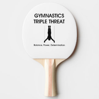 TOP Gymnastics Triple Threat Ping-Pong Paddle