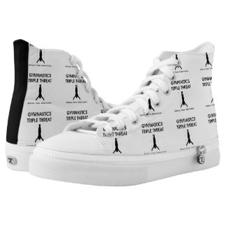 TOP Gymnastics Triple Threat Printed Shoes