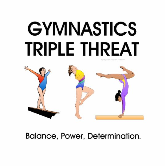 TOP Gymnastics Triple Threat (W) Cutout
