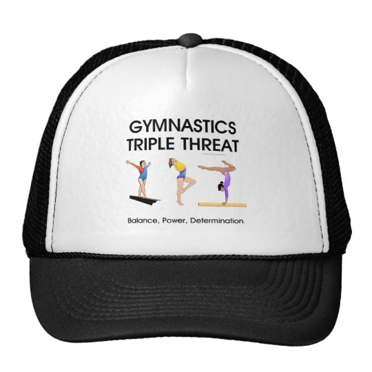TOP Gymnastics Triple Threat (W) Trucker Hat