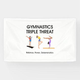TOP Gymnastics Triple Threat Banner