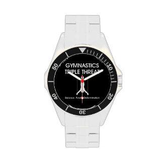TOP Gymnastics Triple Wristwatch