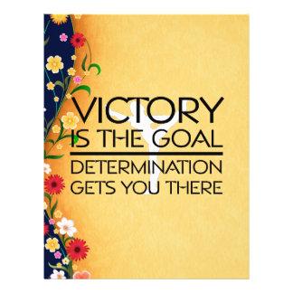 TOP Gymnastics Victory Slogan Custom Flyer