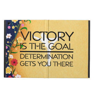 TOP Gymnastics Victory Slogan iPad Air Cover