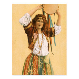 TOP Gypsy Post Card
