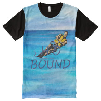 TOP H2o Bound All-Over Print T-shirt