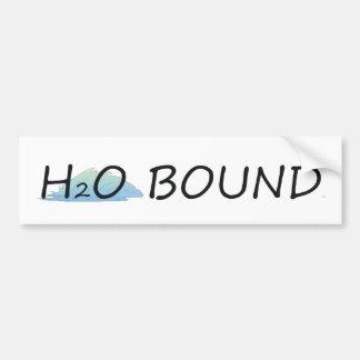TOP H2O Bound Car Bumper Sticker