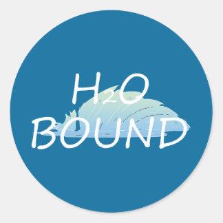 TOP H2O Bound Classic Round Sticker
