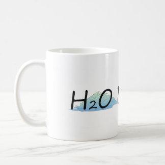 TOP H2O Bound Classic White Coffee Mug