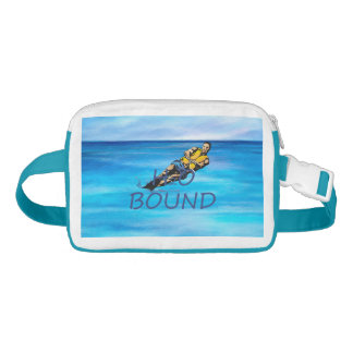 TOP H2o Bound Nylon Fanny Pack