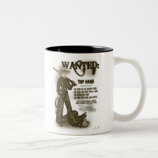 Top Hand Cowgirl Mug
