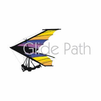 TOP Hang Glide Path Photo Statuette