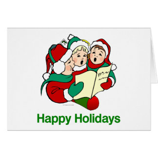 TOP Happy Holidays Greeting Card