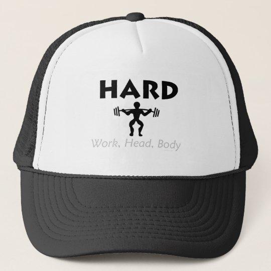 TOP Hard Work Head Body Trucker Hat