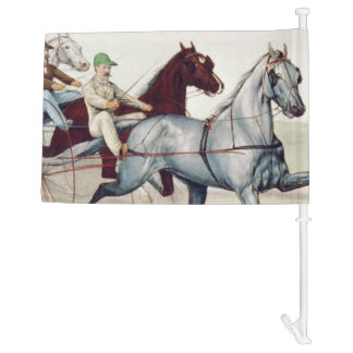 TOP Harness Racing Car Flag