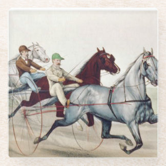 TOP Harness Racing Glass Coaster