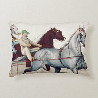 TOP Harness Racing Accent Pillow