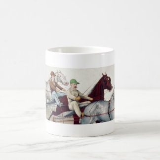 TOP Harness Racing Classic White Coffee Mug