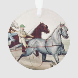 TOP Harness Racing Ornament