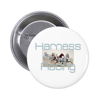 TOP Harness Racing Pinback Button