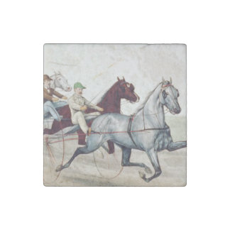 TOP Harness Racing Stone Magnet