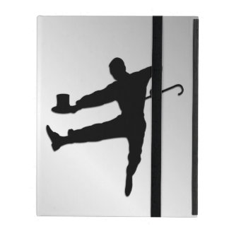 Top Hat and Cane Tap Dancer iPad Case