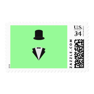 top-hat and smoking postage